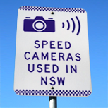 Speed Camera Sign